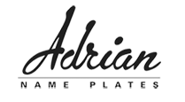 Adrian Name Plates - custom monument markers, boundary markers, labels